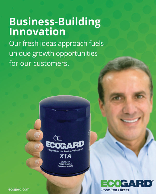 ECOGARD 1/4 Page Advertisement in National Oil & Lube News