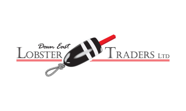 down east lobster traders logo design by matt wilson