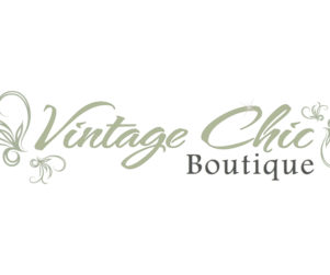 vintage chic logo design by matt wilson